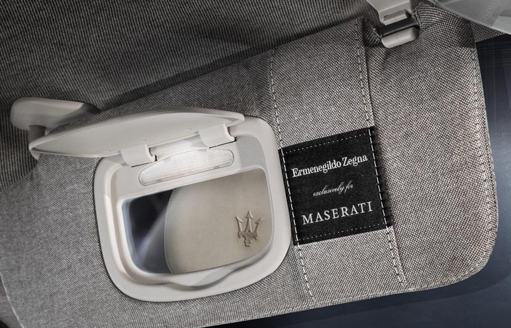 Interni Maserati Ermenegildo Zegna