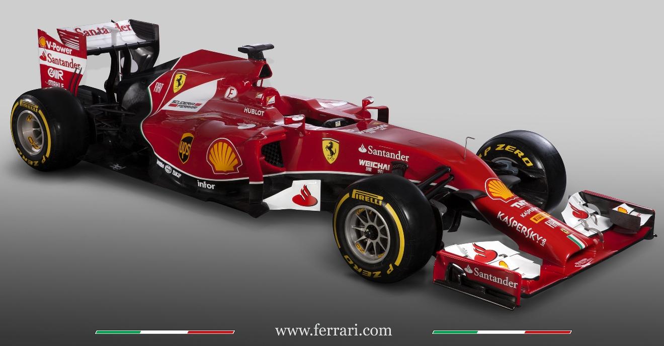 Ferrari Formula 1  F14 T