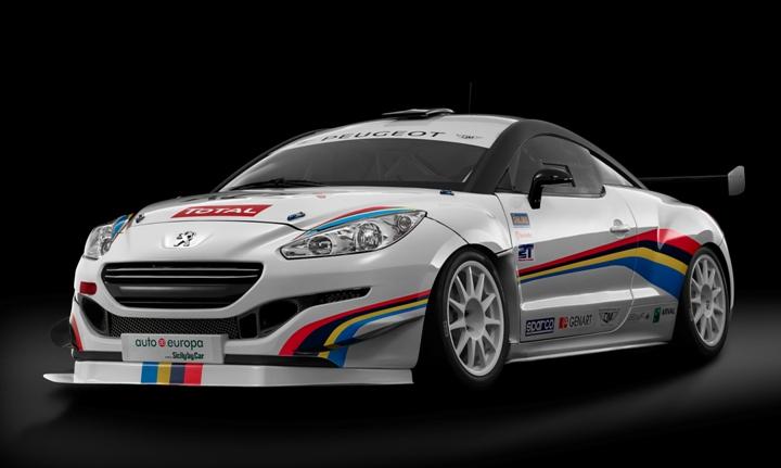RCZ R Racing 3-4 front