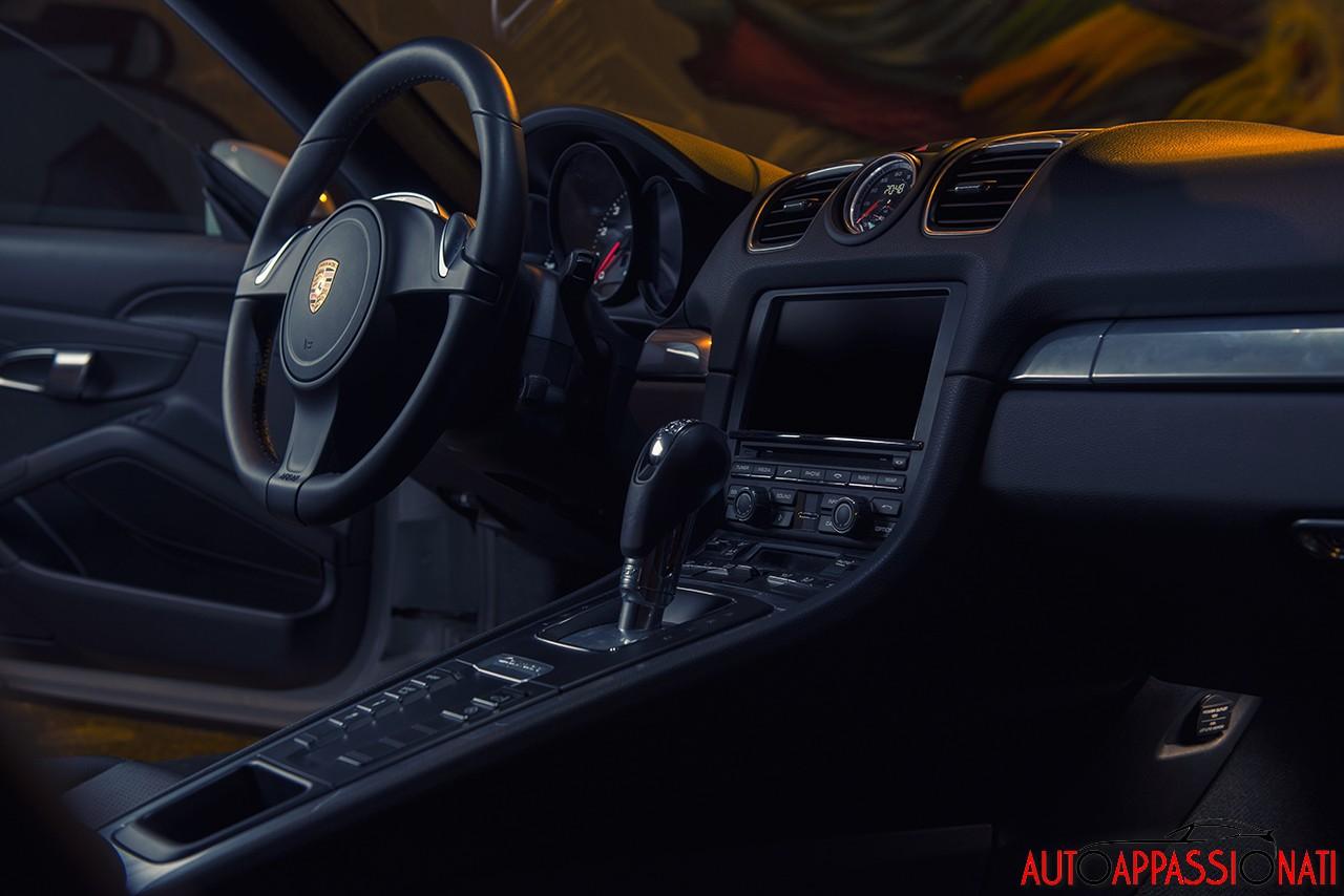 Interni Porsche Cayman S