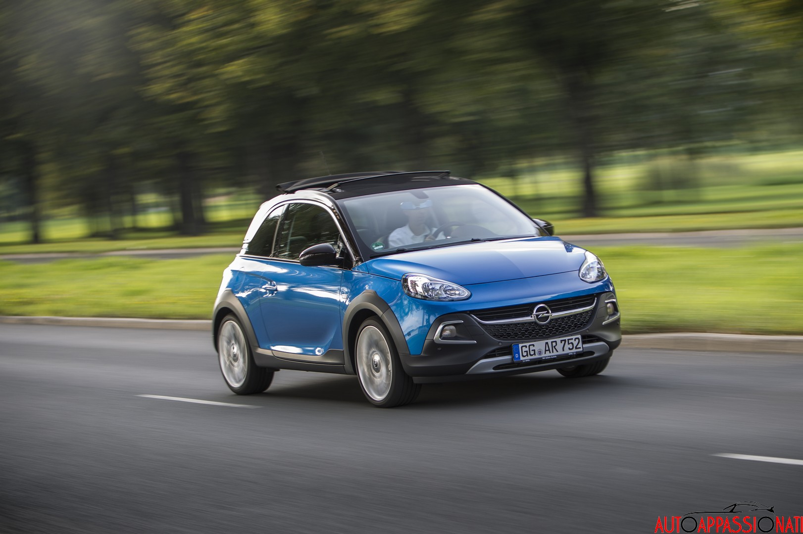 Opel Adam Rocks prova test