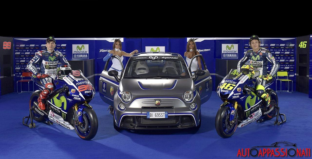 Abarth official sponsor Yamaha 2015
