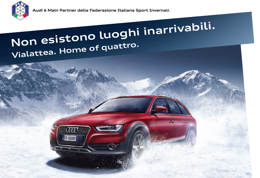 Audi home of quattro sestriere