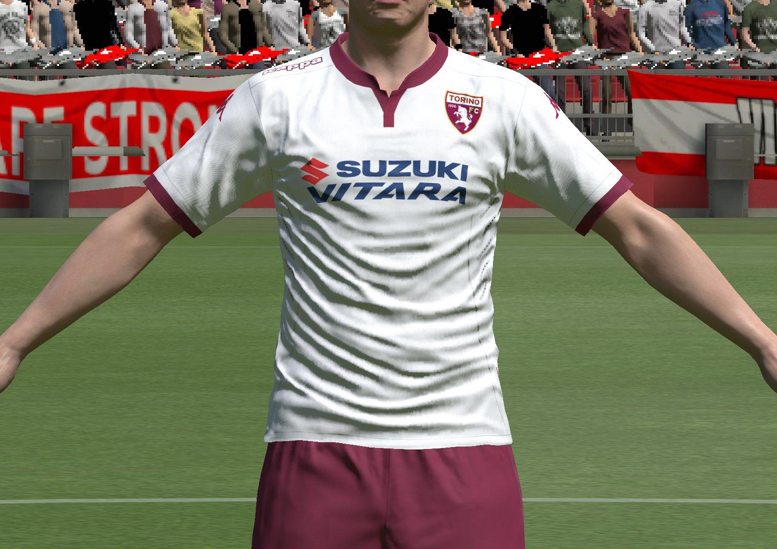 Torino fc maglia away 2015-16