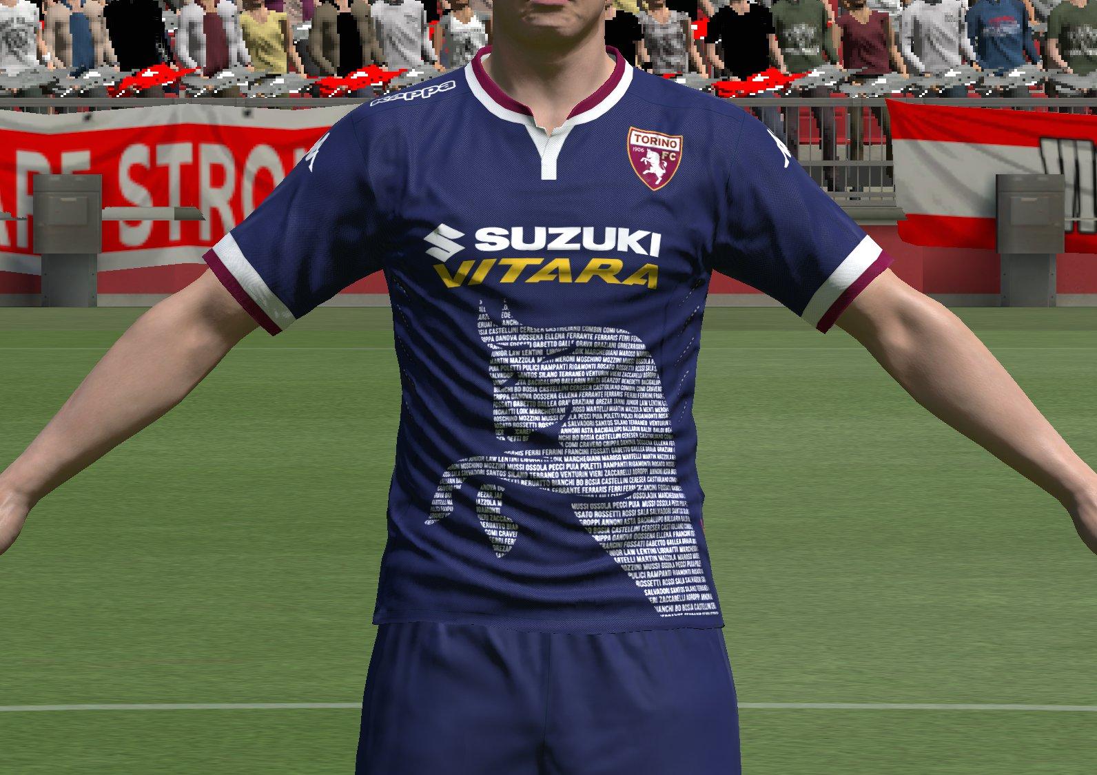 Torino fc terza maglia 2015-16