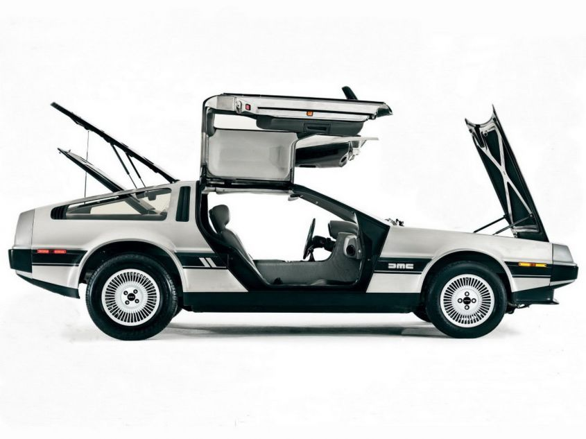 DeLorean DMC 12 aperta