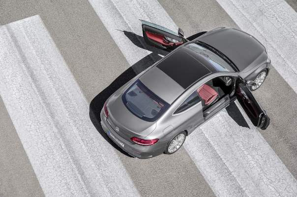 Mercedes Benz Classe C Coupe 11