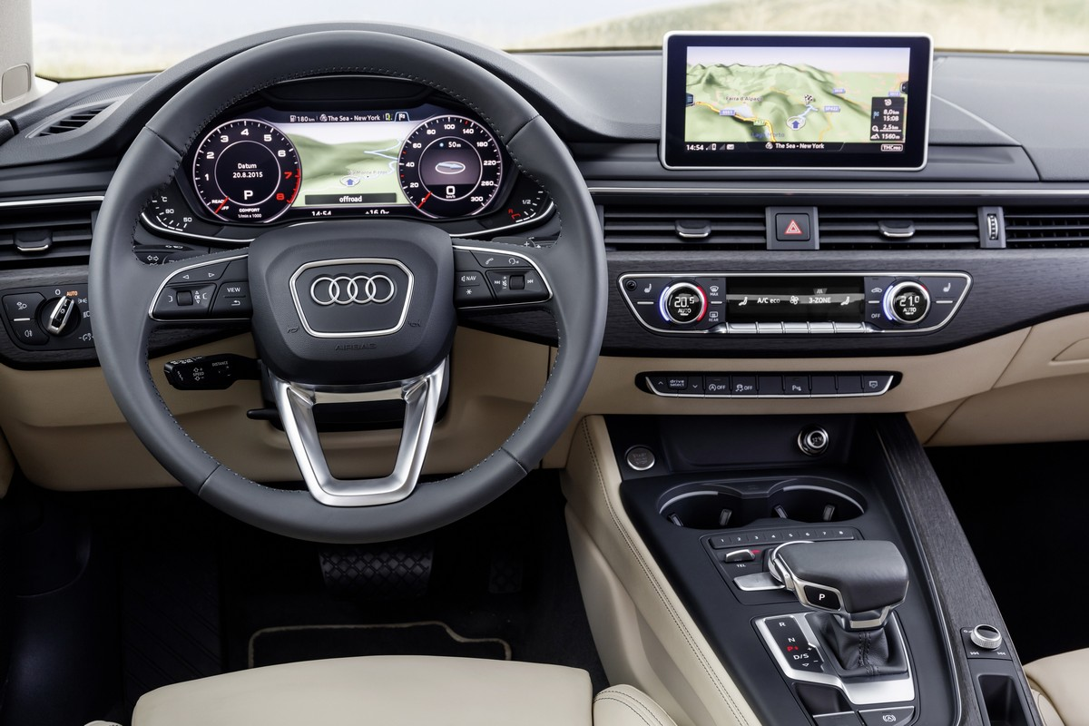 Interni nuova Audi A4 Avant