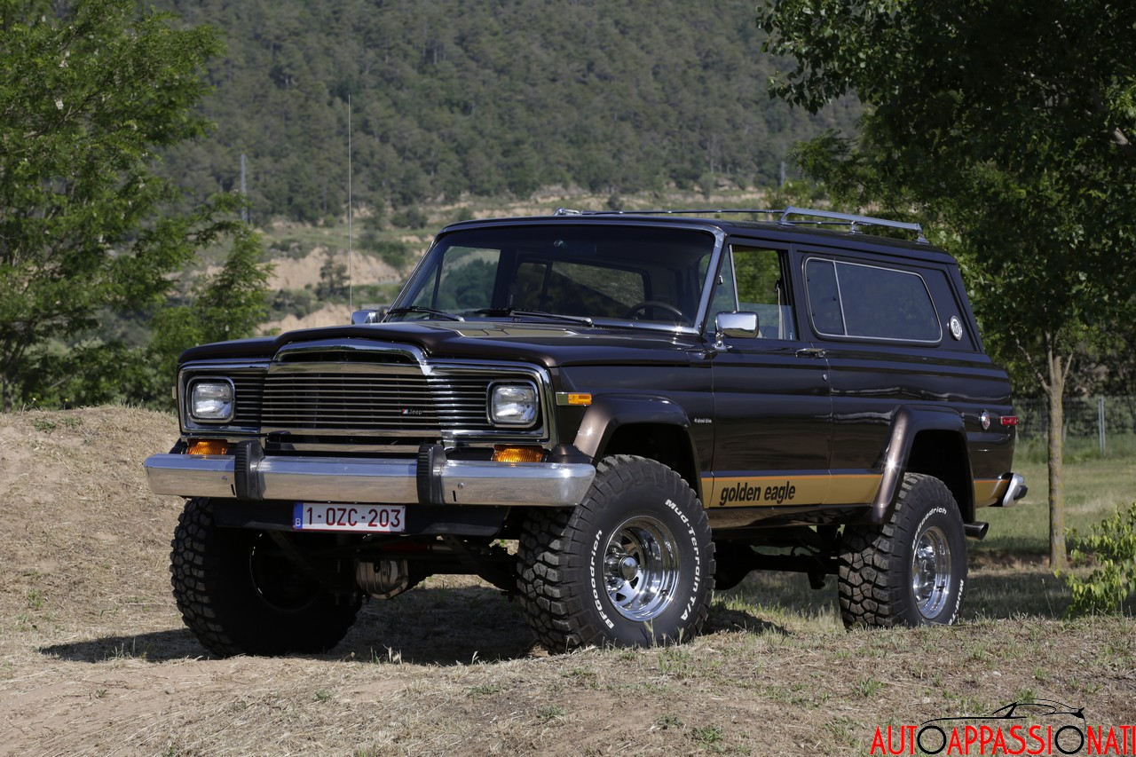 Jeep Cherokee Golden Eagle