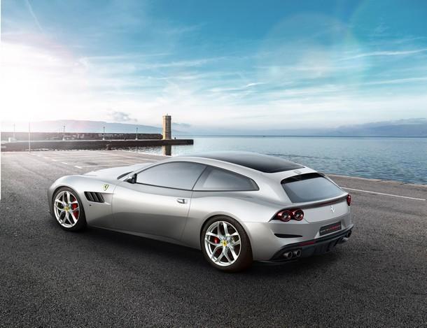 Ferrari GTCLussoT Rear