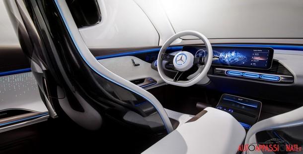 Mercedes GenerationEQ Interni