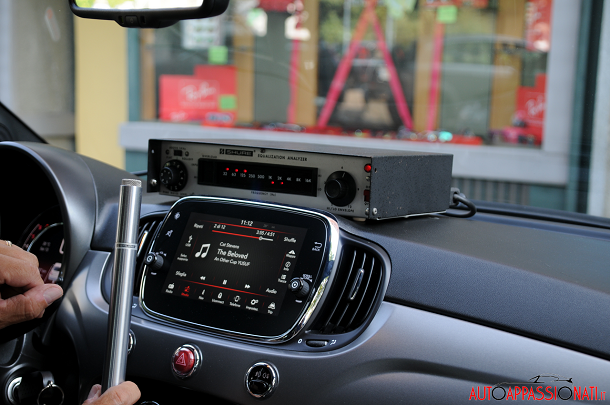 Test Audio Fiat 500 S