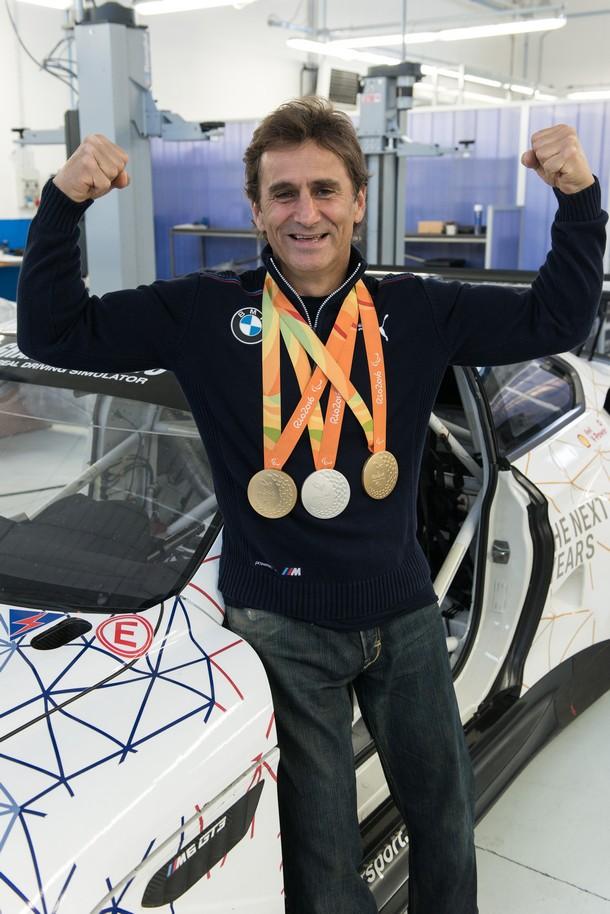 Zanardi M6GT3 medaglie