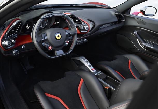 Ferrari J50 Interni