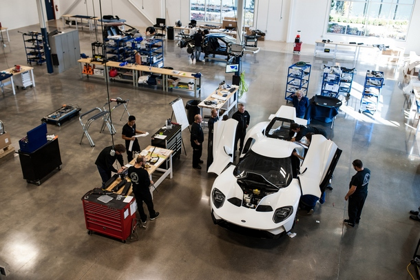 Ford GT Factory