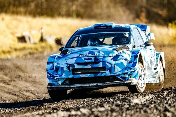 Ogier Test FiestaWRC