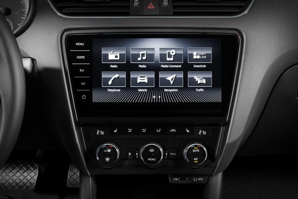 Skoda Octavia Connect infotainment