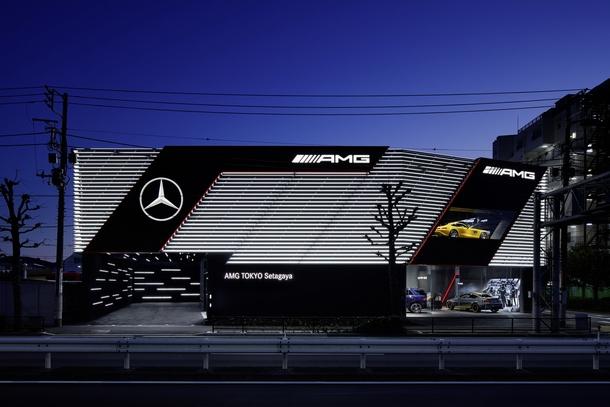AMG Performance Center Tokyo esterni