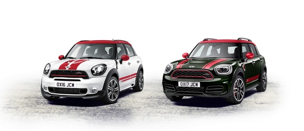 MINI Countryman JCW confronto