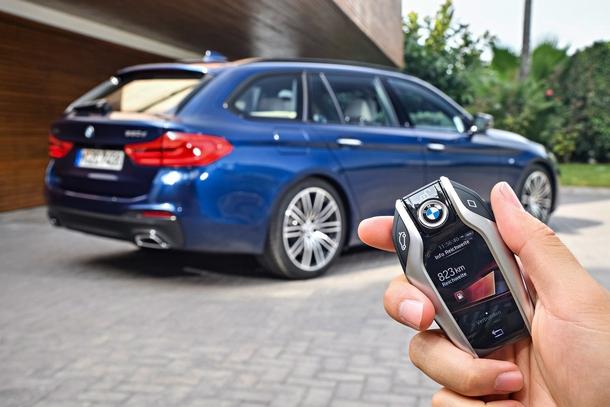 BMW Serie5 Touring telecomando