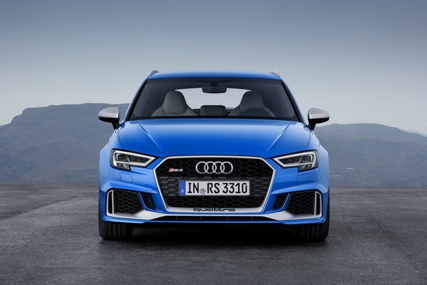 Nuova Audi RS3 Front