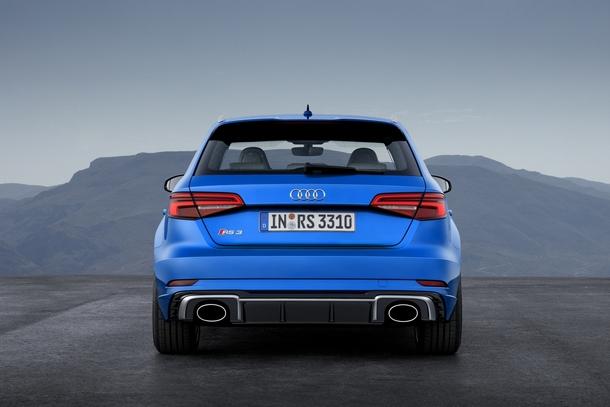 Nuova Audi RS3 Rear