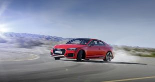 Audi RS 5 Coupé in anteprima nazionale alla Design Week 2017