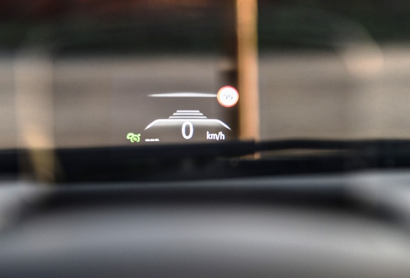 Renault Scenic 1.6dCi head up display