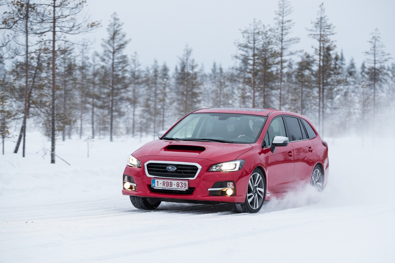 Subaru Snow Experience