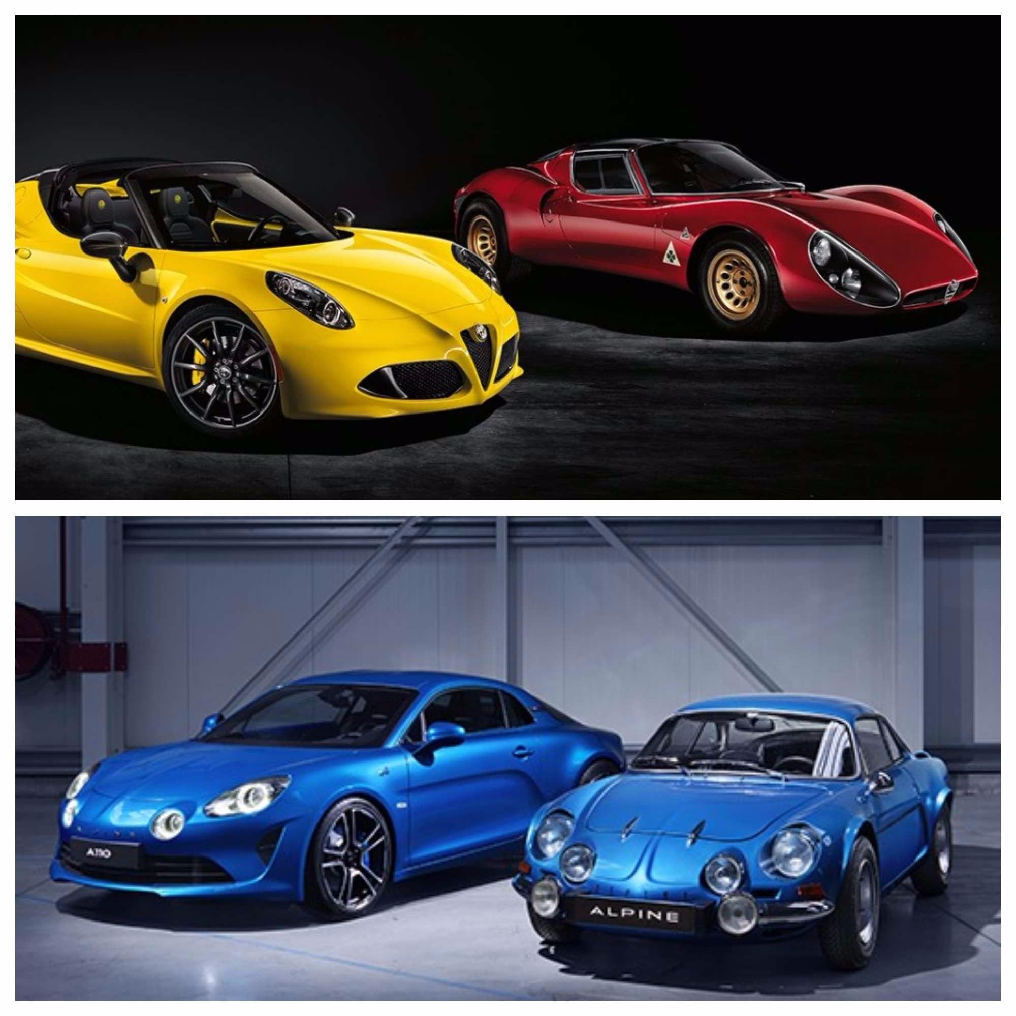 Alfa Romeo 4C VS Alpine A110