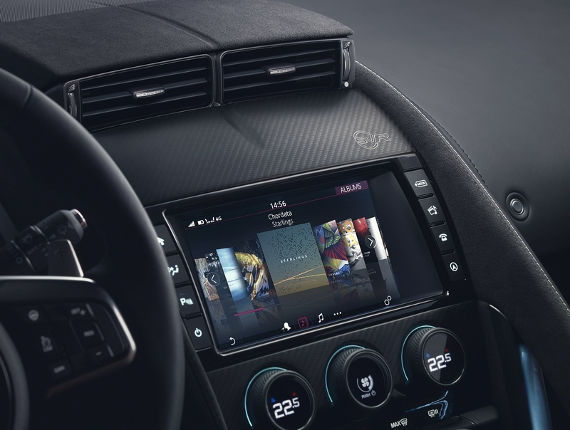 Jaguar F-Type MY 2018 con nuovo sistema di infotainment