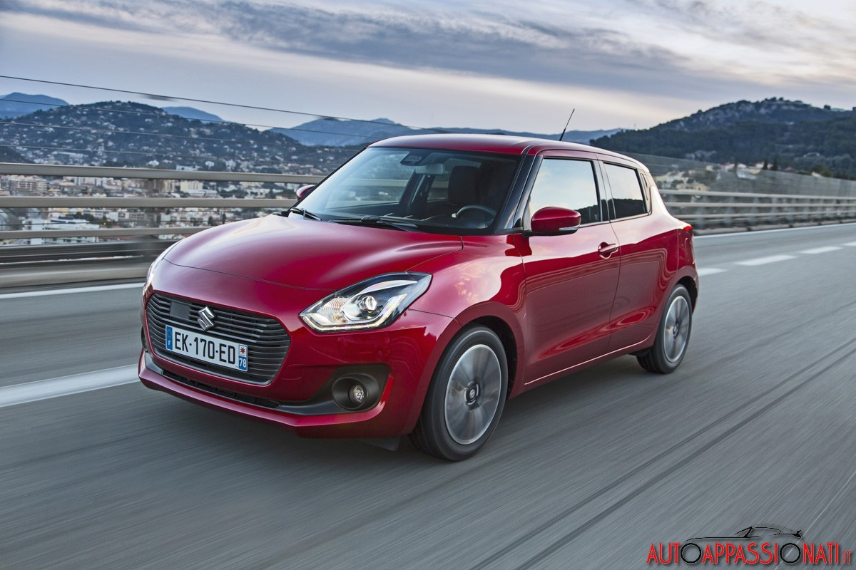 Nuova Suzuki Swift