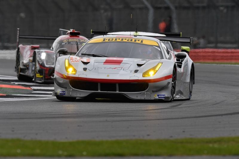 La Ferrari a Silverstone