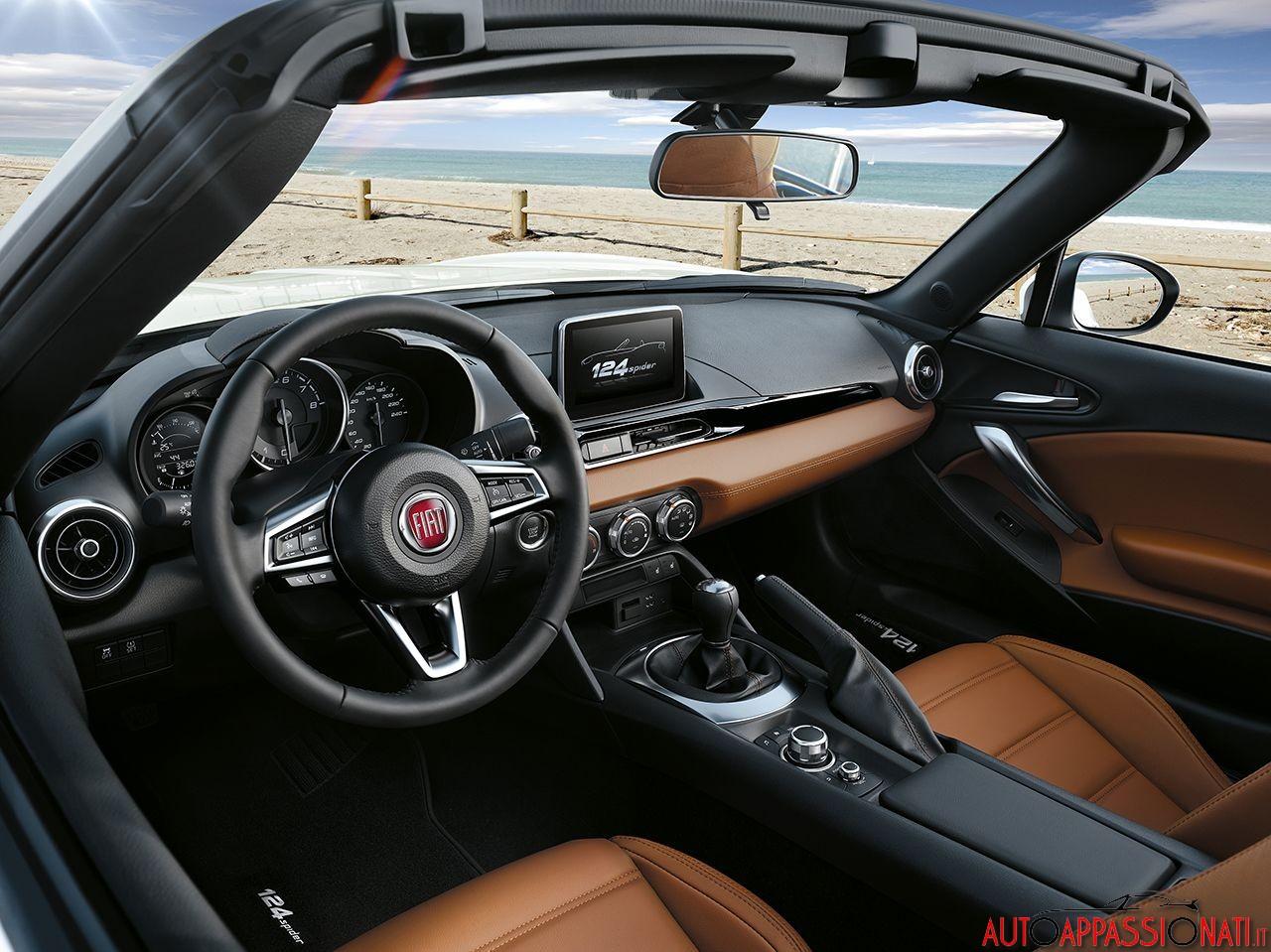 Fiat 124 Spider interni