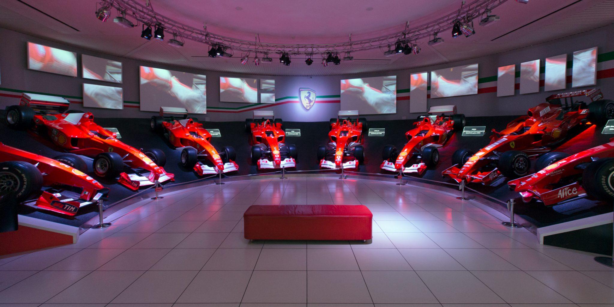 Museo Ferrari Maranello - Motor Valley