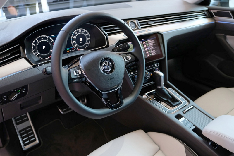 Anteprima italiana di Volkswagen Arteon