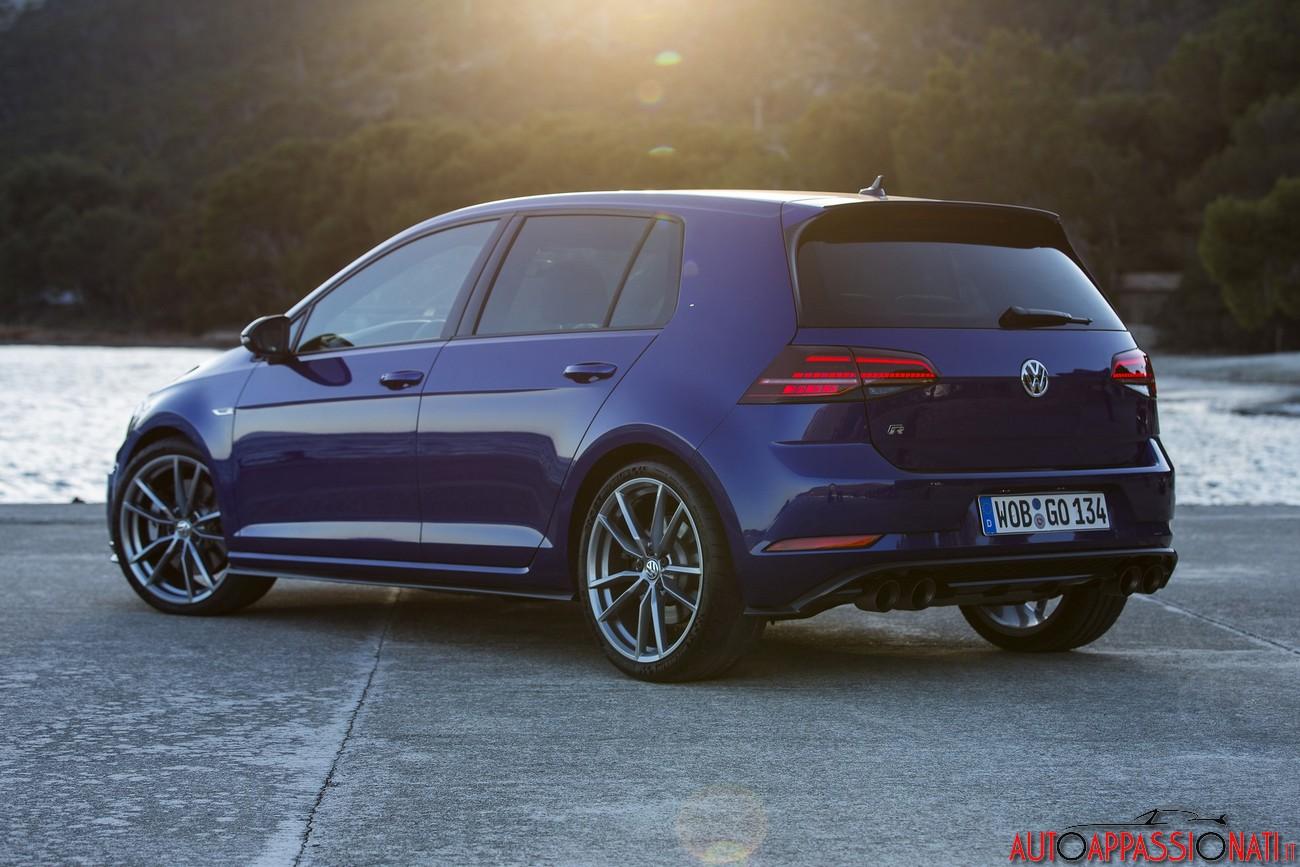 Nuova Volkswagen Golf R