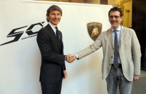 Stephan Winkelmann e Virginio-Merola per i 50 anni Lamborghini