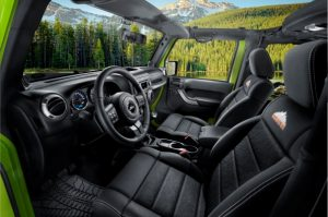 Jeep Wrangler Mountain interni