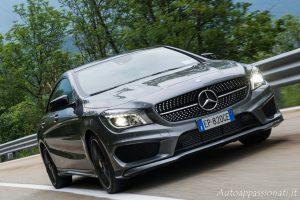 Mercedes-Benz CLA in action