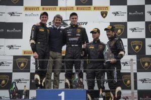 Lamborghini Super Trofeo 2013 World Final - Podio Gara 1 052