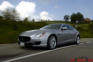 Maserati Quattroporte Diesel Prova su strada