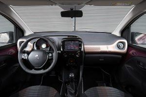 Interni Peugeot 108
