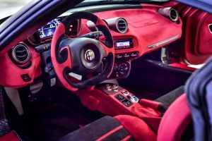Alfa Romeo 4C La Furiosa by Garage Italia Customs - Interni