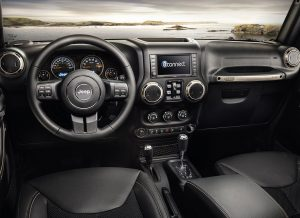 Interni - Jeep Wrangler 75th Anniversary
