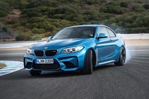 BMW M2 on track