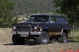 Jeep Cherokee Golden Eagle