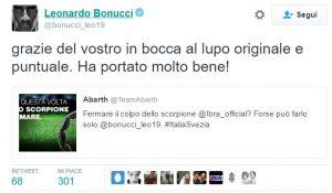Twitter Bonucci Abarth