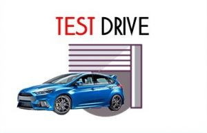 Test drive focus rs
