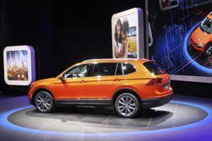 Volkswagen nuovo Tiguan retro